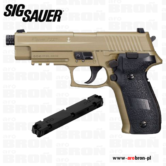 Pistolet wiatr�wka SIGSAUER P226 4,5 mm USA FULL METAL - FDE - AIR-226F-177-12G-16-FDE